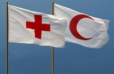 Flags of the Red Cross and Red Crescent